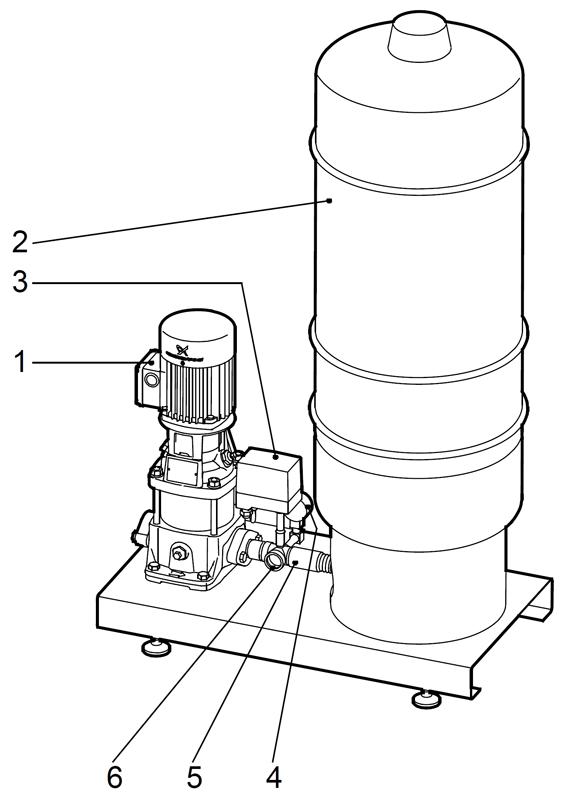Насосные установки повышения давления Hydro Solo-S