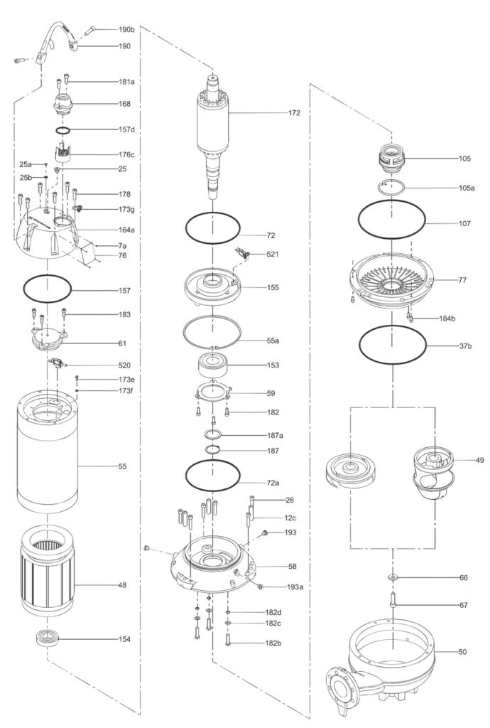 Grundfos SL (до 9-30кВт)