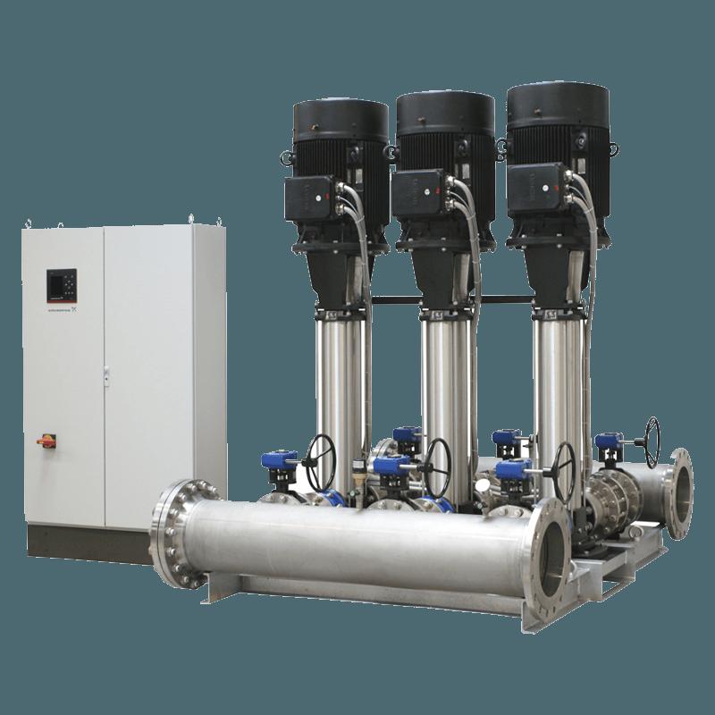 Насосные установки повышения давления Grundfos Hydro MPC