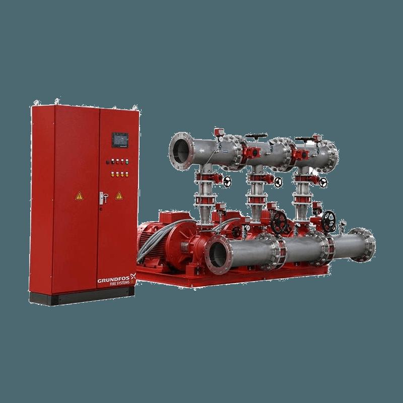 Комплектные насосные установки Grundfos Hydro MX