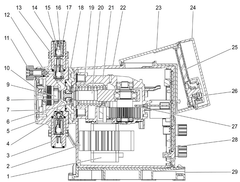 Деталировка Grundfos DDA 7.5-16 FCM-PVC/E/C-F-31U2U2FG артикул: 97722014