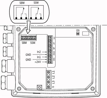 Схема подключений насоса Wilo HELIX VE 606-1/16/E/S артикул: 4201583 ((4164633))