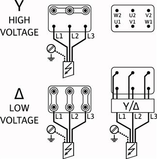 Схема подключений насоса Wilo HELIX V 5204/2-1/16/E/KS/400-50 артикул: 4198498 ()