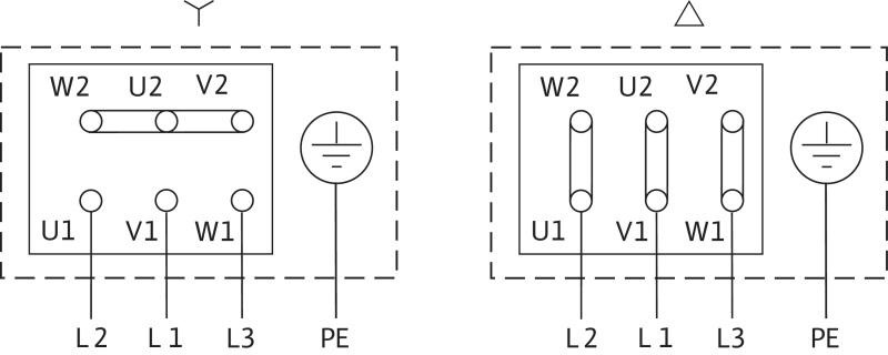 Схема подключений насоса Wilo BAC 40-134-2.2/2-DM/S-2 артикул: 4213190((4203790))