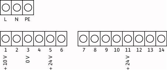 Схема подключений насоса Wilo MHIE 205N-2/V/3-2-2G артикул: 4148413()