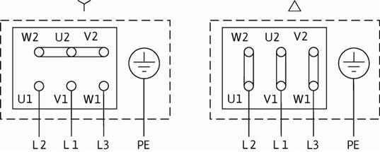 Схема подключений насоса Wilo NL 150/250-18,5-4-05 артикул: по запросу((4109438))